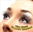 70'S FANCY DRESS ACCESSORIES # BLACK LONG EYELASHES
